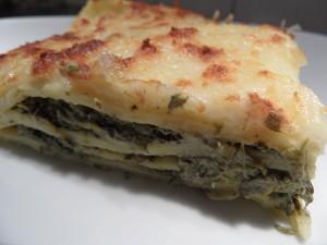 Lasagnes épinards ricotta dans Plats principaux sam_5312-300x225